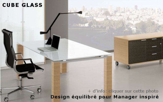 Mobilier de bureau professionnel et de direction design de Paris