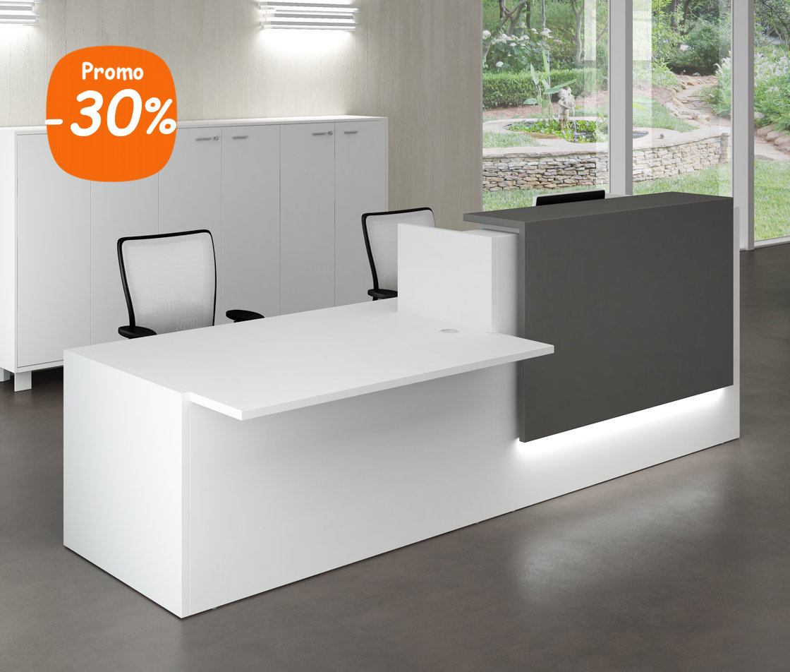 banque d 39 accueil design pour handicap de la gamme bench. Black Bedroom Furniture Sets. Home Design Ideas