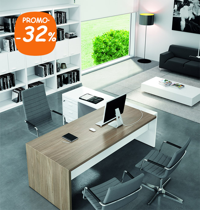 Souvent Bureau direction design contemporain et retour California XA58
