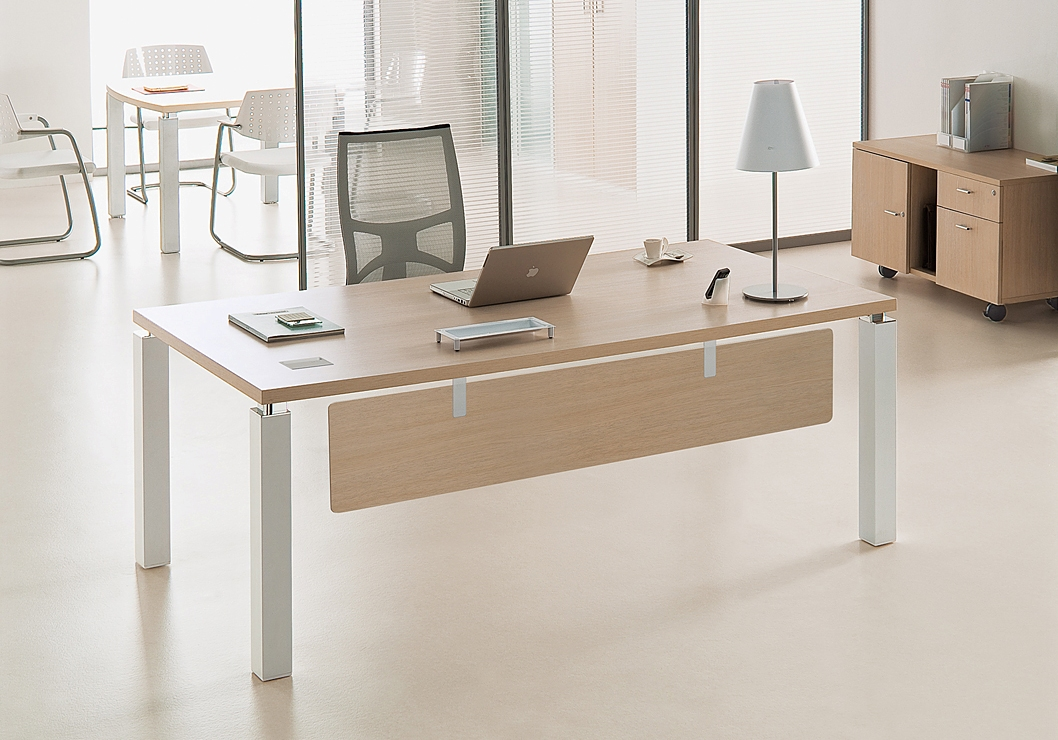 bureau de direction design contemporain pas cher stock