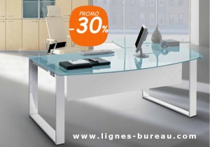 Bureau direction verre contemporain au design élégant vente